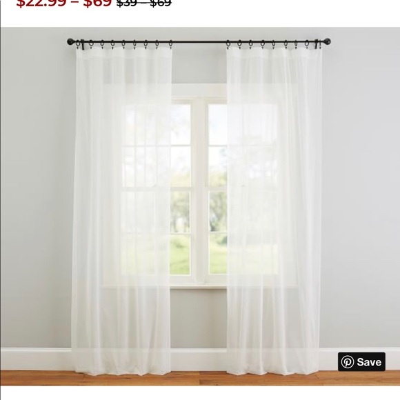 Pottery Barn Other - Pottery barn curtains